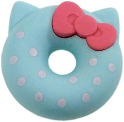 USA Sanrio Hello Kitty Eraser Donut Eraser Emeguri