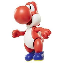 "World Of Nintendo 91452 4"" Red Yoshi With Egg Action Figure"