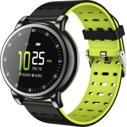 B8+ 1.08 Inch Ips Color Screen IP67 Waterproof Smart Watch Support Message Reminder Heart Rate Monitor Blood Oxygen Monitoring Blood Pressure Monitoring Sleeping Monitoring Green