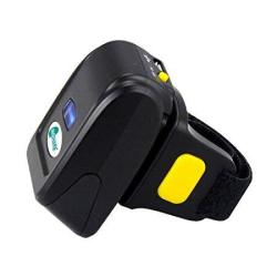 Portable Bluetooth 2D Barcode Scanner Wearable Ring Wireless Finger MINI Qr  Bar Code Reader Compatible For Windows Mac Os Androi | R3738 00 | Scanners
