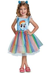 Disguise Costumes - Toys Division Rainbow Dash Movie Toddler Classic Costume Blue Small 2T