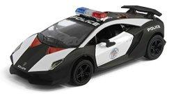 Deals On Kinsmart Lamborghini Sesto Elemento Police Car Compare
