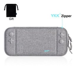 Ultra Slim Carrying Case For Nintendo Switch Vup Switch Hard Cover Portable Protective Travel Shell For Nintendo Switch Console & Accessories With 8 Game