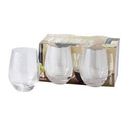 No Brand Stemless Wine Glasses 4 Pack