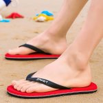 Season Slippers Men's Trend Non-slip Flip Flops Men's Fashion Wear Pinch Beach Men's Outdoor Sandal