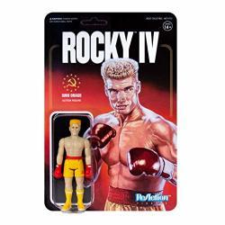 Ivan Drago Rocky Iv Reaction Figure By SUPER7