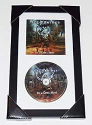 Dee Snider Twisted Sister Autographed Cd Framed & Matted - For The Love Of Medal