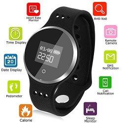 Fashion Smart Bracelets Heart Rate Monitor Sport Activity Watch Clock Life Waterproof
