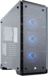 Corsair Crystal 570X ATX Mid-Tower Case with RGB Fans