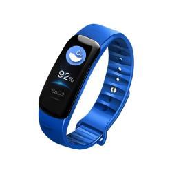 Color Screen Waterproof Fitness Smart Watch - Blue