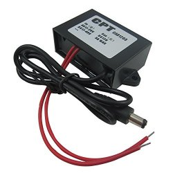 Waterproof 24V AC DC to 12V DC 1A Power Converter Adapter for CCD Camera