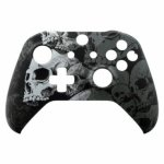 XBOX One S Controller Front Faceplate Art Series Skull
