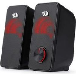 2.0 Satellite Speakers Black