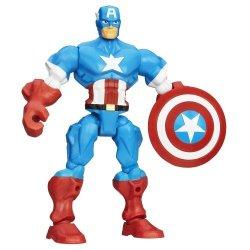 Hasbro Marvel Super Hero Mashers Captain America Figure 6 Inches