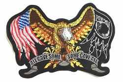All Gave Some Some Gave All Pow Mia American Veterans Patches Respect To You Usa America