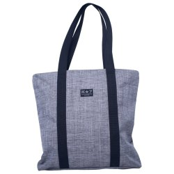 K 7 - Grey Melange Shopper Bag
