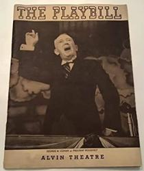 Rare Vintage 1938 Playbill Rodgers And Harts Musical I'd Rather Be Right George M. Cohen