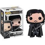 Jon Snow: Game Of Thrones X Funko Pop Vinyl Figure & 1 Pop Compatible Pet Plastic Graphical Protector Bundle 007 03090 - B