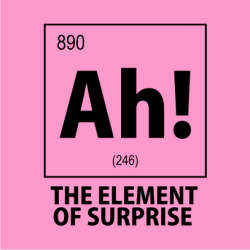 Ah The Element Of Surprise Female Light-pink