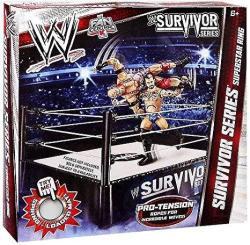 Mattel Wwe Wrestling Exclusive Survivor Series Superstar Ring Pro-tension Ro...