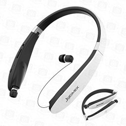 4bed2d508e3 JYDMIX Bluetooth Headphones Foldable And Retractable Wireless Neckband  Earbuds With Microphone Sports Earphones For Running Work