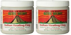 Aztec Secret Indian Healing Clay Deep Pore Cleansing 1 Pound 2 Pack