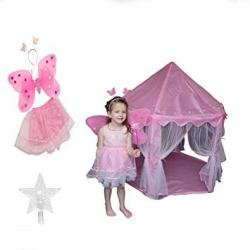 USA S Fairy Princess Tent-rainbow Lights-fairy Costume