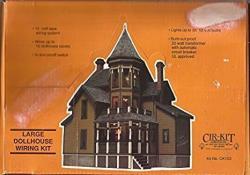 Cir-Kit Concepts, Inc. Dollhouse Cir-kit Large House Wiring Kit--up To 33 Bulbs
