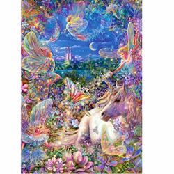 Sunnysport Diamond Painting Kits 5D Diy Cabinet Table Stickers For Study Christmas Room Flower PAINTING-2 40CM30CM-A