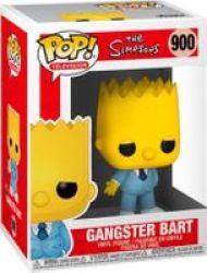 Pop Television: The Simpsons - Gangster Bart Vinyl Figure