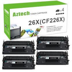 4 PK High Yield CF226A Toner Cartridge for HP LaserJet M402dn M402n M402d M426dw
