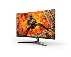 Rocksoul RSGM-27M3A Qhd 144HZ 27 Inch Curved Gaming Monitor 2560X1440 2K Widescreen 1440P Resolution & Freesync Samsung Va Panel