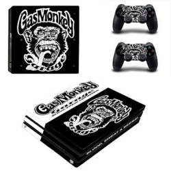 Decal Skin For PS4: Gas Monkey 2019