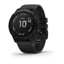 Garmin Fenix 6X Pro Black Watch with Black Band