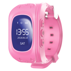 Volkano Kids Find Me Series Children's Gps Tracking Watch - Pink