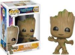 Pop Guardians Of The Galaxy Vol 2 - Groot Vinyl Figurine