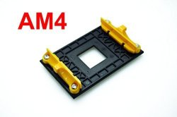 PartsCollection AM4 Retention Bracket & AM4 Back Plate For AM4'S Heat Sink Cooling Fan Mounting
