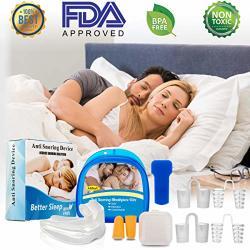 Joygift Anti Snoring Mouthpiece Snoring Solution Anti Snoring Mouth Guard  Set Snore Stopper Nasal Dilators Stop Snoring Mouthpie | R755 00 |