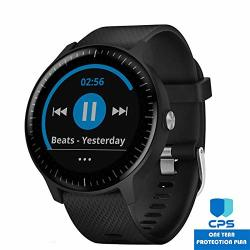 Beach Camera Garmin Vivoactive 3 Music Gps Smartwatch Granite Blue + Rose Gold 010-01985-31 With 1 Year Extended Warranty