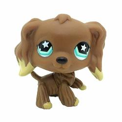 Sonmer Cute Animal Pet Collie Dog Collection Child Girl Boy Figure Toy