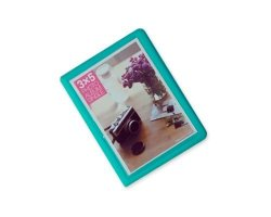 Dsstyles 32 Pockets Colorful Fuji Wide Instant Mini Book Photo Album