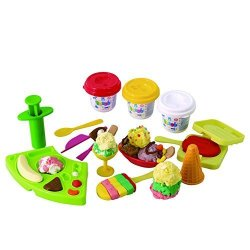 Yansion Dough Tool Clay Dough Tools Kit 23 Pieces with Molds Cutters Rollers Animal Shapes