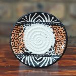 Zebra And Leopard African Grater Plate