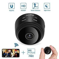 Joytrip MINI Hidden Camera Wifi Wireless Spy Camera HD 1080P Ip Spy Cam  Home Security Nanny Cam Built-in Battery Hidden Cam With | R1699 00 | CCTV