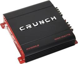 Crunch Px 1000.2 Power Amplifier Class Ab 2 Channels 1 000 Watts Max