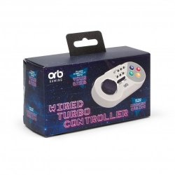 Turbo Wired Controller For Snes