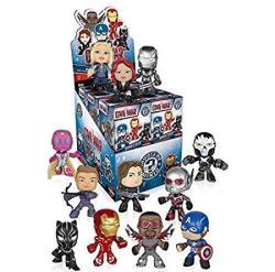 Captain America 3: Civil War Funko Marvel Mystery Minis Vinyl Mini-figure Display Box - Contains 12 Blind Box Figures