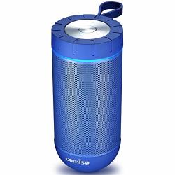 Comiso Bluetooth Speaker With 360 Surround Sound 24 Hour Playtime 66FT Bluetooth Range IPX5 Water Resistance Dual-driver Wireles