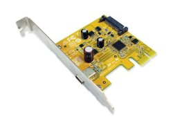 Sunix USB 3.1 Enhanced Superspeed Single Port PCI Express Host Card With Type-c Receptacle