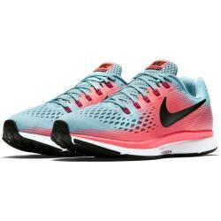 110480615a1e1 Nike Air Zoom Pegasus 34 Ladies Running Shoe - UK6